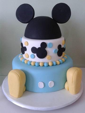 modelos de tortas de cumpleaños mickey mouse