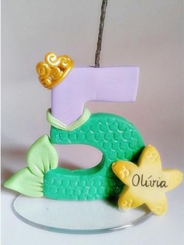 modelos de tortas de cumpleaños tematica sirena