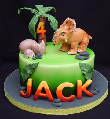 pasteles de dinosaurios para niños personalizado