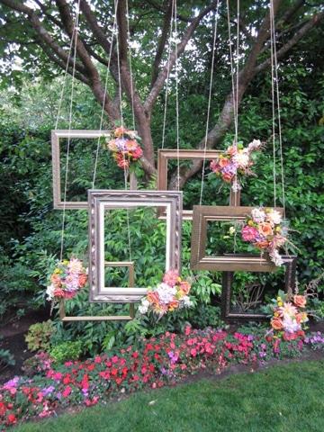 arboles decorados para fiestas vintage