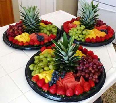 arreglos de mesa para presentacion ideas frutas