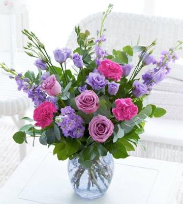 centros de flores naturales para sala