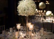 Hermosos centros de mesa con nube para decoracion