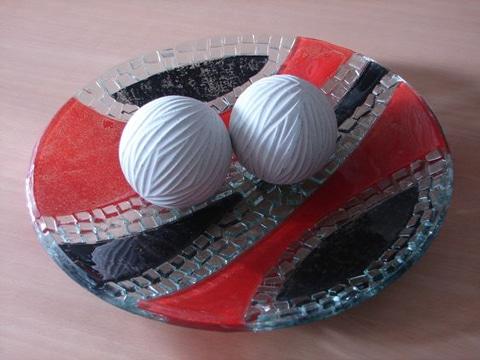 centros de mesa de ceramica para comedor