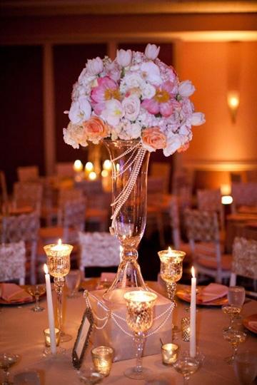 centros de mesa para restaurantes elegantes