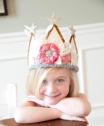 coronas de princesas para hacer super lindas