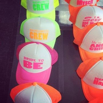 gorras despedida de soltera de colores