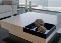 Originales mesas de centro bajas para engalanar