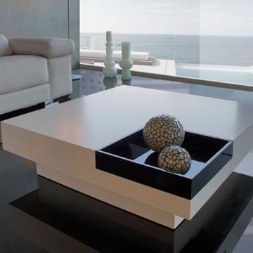 mesas de centro bajas de madera