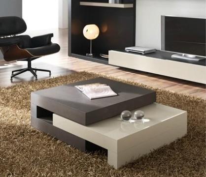 mesas de centro bajas modernas