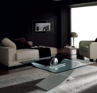 mesas de centro con cristal modernas