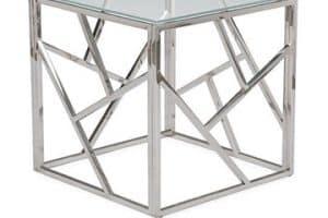 Increibles diseños de mesas de centro de cristal y acero