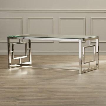 Increibles dise os de mesas de centro de cristal y acero - Mesas de centro de cristal modernas ...