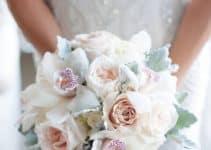 Hermosos y simbolicos ramos de novia con orquideas