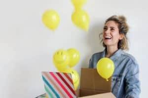 El ingenio para regalos sorpresa de cumpleaños