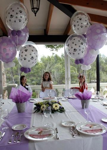 adornos de salon con globos fiesta infantil