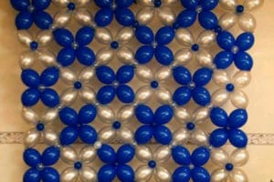 Hermosos adornos de salon con globos para diversos festejos