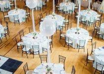 Sencillos y hermosos adornos para boda con globos