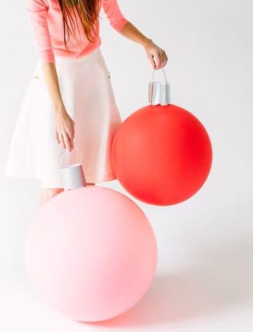 adornos sencillos con globos en casa