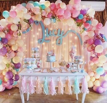 arcos de globos para 15 años ideas decoracion