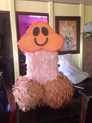 arreglos de despedida de soltera piñata
