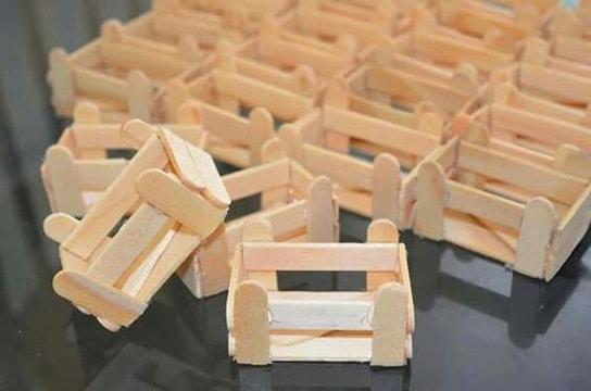 bases para arreglos de mesa con paletas