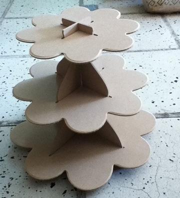 bases para arreglos de mesa para dulces