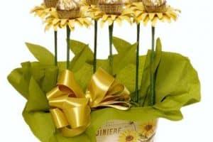 Originales adornos y centros de mesa con chocolates