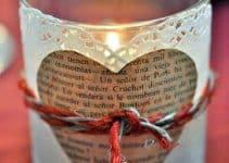 Ideas y manualidades para centros de mesa con corazones