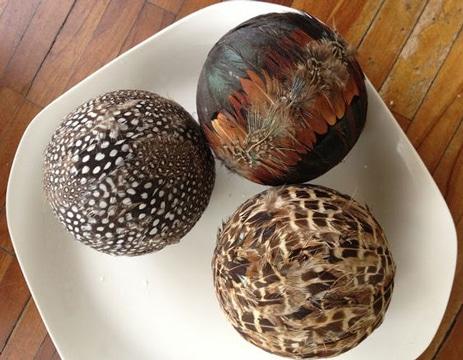 centros de mesa con esferas ideas reciclaje