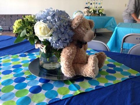 centros de mesa de osos de peluche