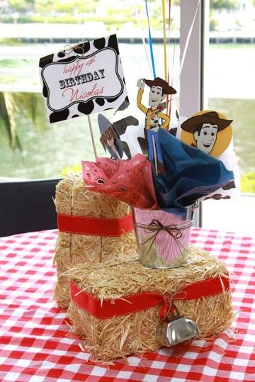 centros de mesa de woody toy story