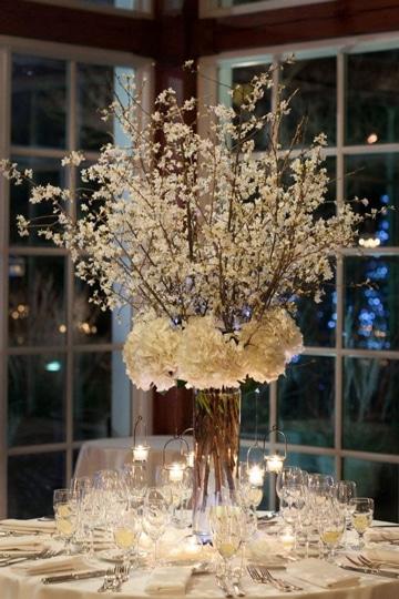 centros de mesa para aniversario con flores