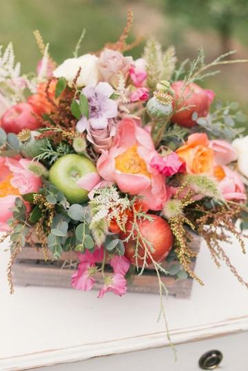 centros de mesa primaverales para boda