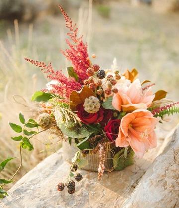 centros de mesa primaverales y coloridos
