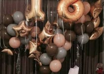 Ideas para crear decoracion con globos en el techo