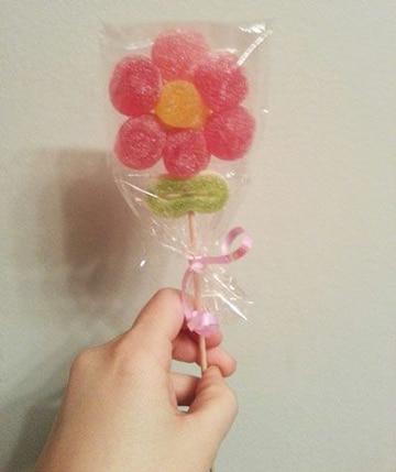 flores para regalo de cumpleaños comestible