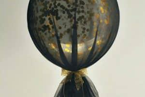 Originales y sencillos globos decorados con tul