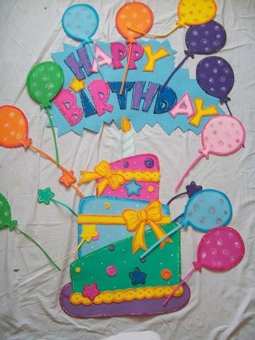 letras para carteles de cumpleaños bonitos