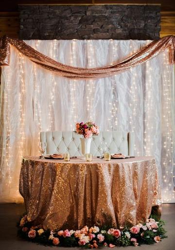 mesas principales para bodas decoradas