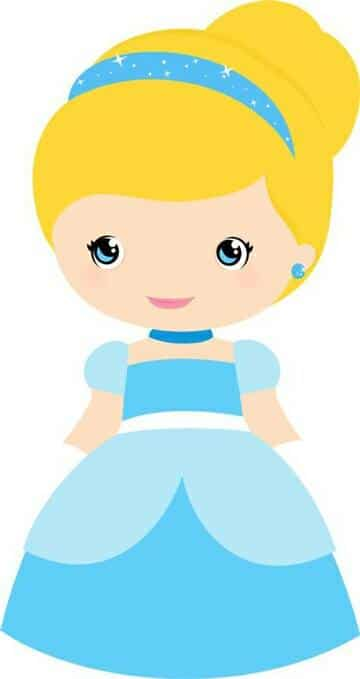 imagenes de la princesa cenicienta niña