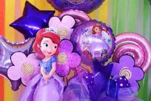 Hermosos arreglos de la princesa sofia ideales para fiestas