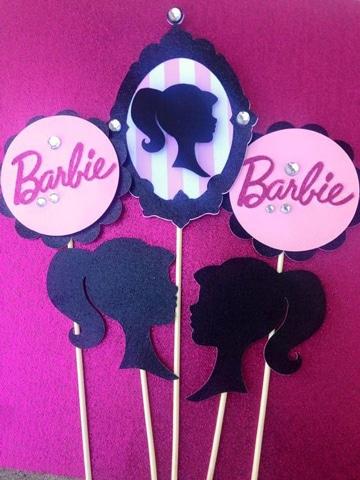 centros de mesa de barbie economicos