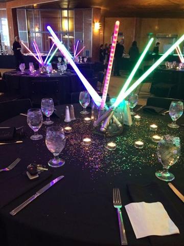 centros de mesa de star wars creativos