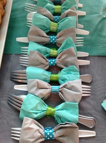 decoracion con servilletas de papel para fiestas