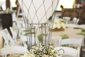 Majestuosa decoracion de globos para matrimonio