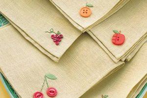 Ideas de como hacer servilletas de tela para el hogar