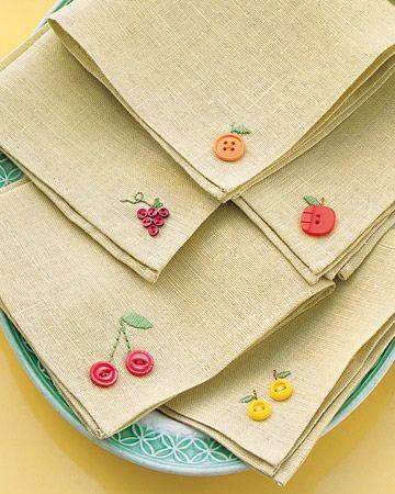 como hacer servilletas de tela faciles ideas sencillas