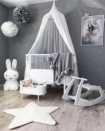 decoracion de paredes para bebes faciles