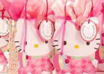 Ideas de adornos y objetos de fiesta tematica de hello kitty